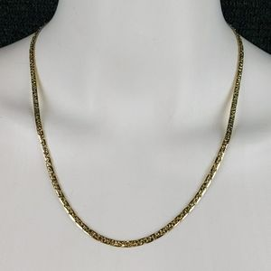 """Vintage Gold Plated 20"""" Necklace"""